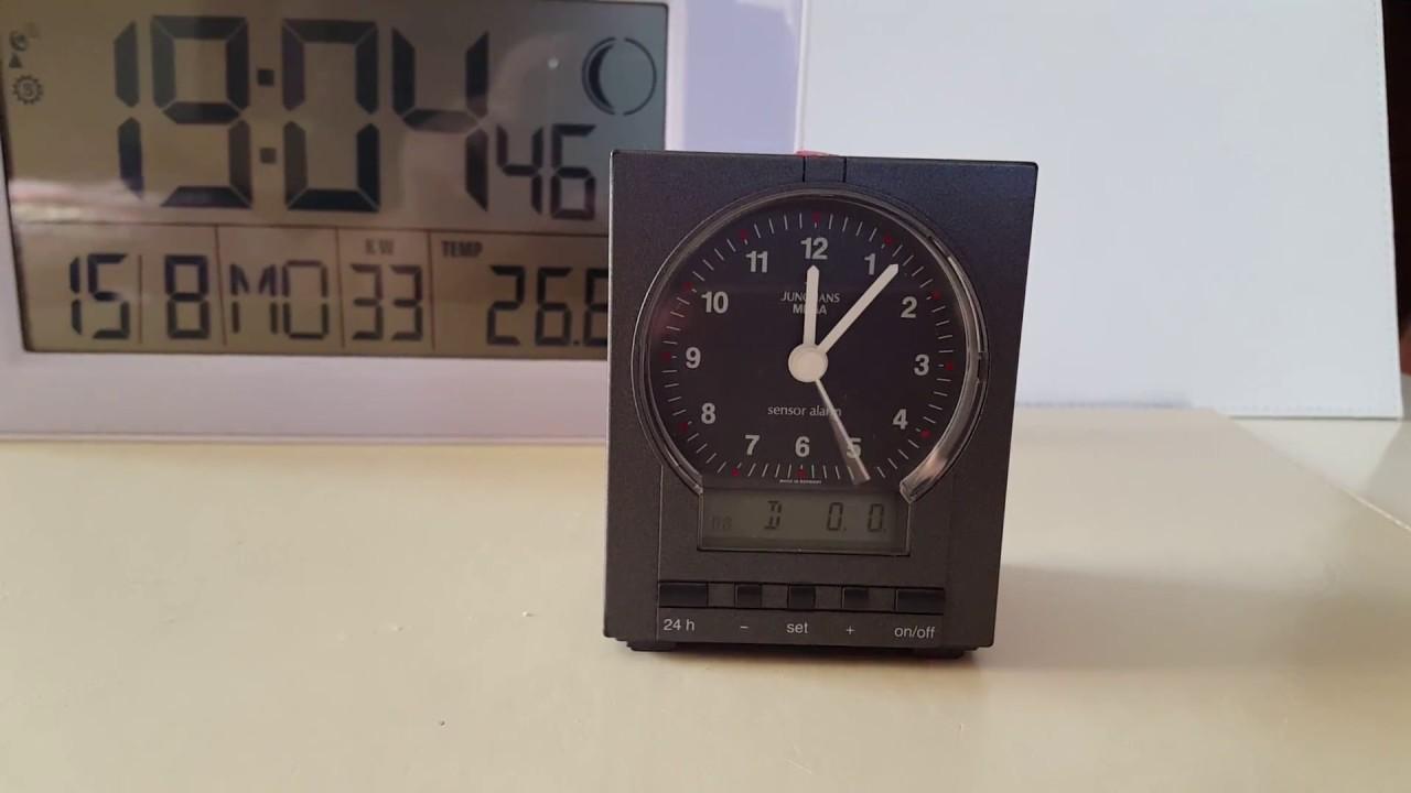 Junghans Mega Alarm Clock Unique Alarm Clock