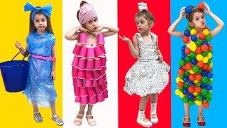 Ева и её новые красивые платья