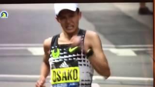 2017波士頓馬拉松之大迫傑