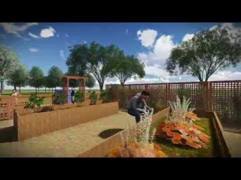NYC Dewitt Clinton High School Garden Design Video
