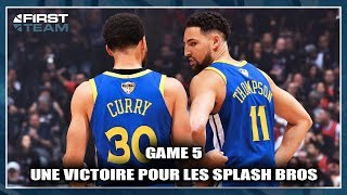 UNE VICTOIRE POUR LES SPLASH BROS ! (KD BLESSÉ GRAVEMENT)  (Débrief Game 5 Finales NBA)
