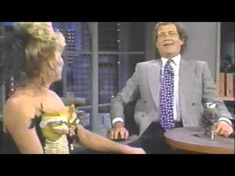 Victoria Jackson on Letterman 1990 Cleavage Wardrobe Issues