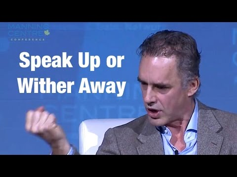 Jordan Peterson's Rousing Call For People To SPEAK UP Because Silence Is WORSE