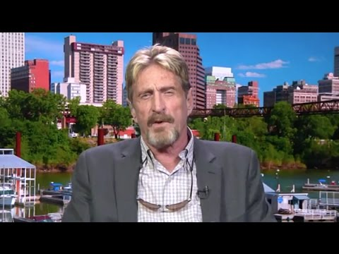 John McAfee Discusses Why He Should Be President | Larry King Now | Ora.TV