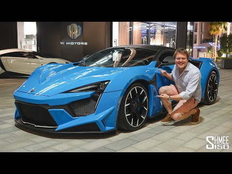 HYPERCAR DRIVE! W Motors Fenyr Supersport and Lykan Hypersport Convoy in Dubai