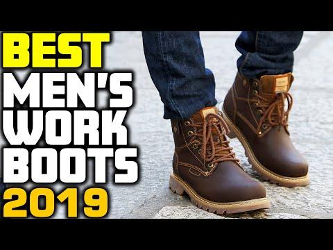 Mens Steel Toe Work Boots Cheap