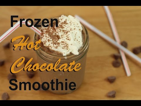 Frozen Hot Chocolate Smoothie | Healthy And Easy by Rockin Robin