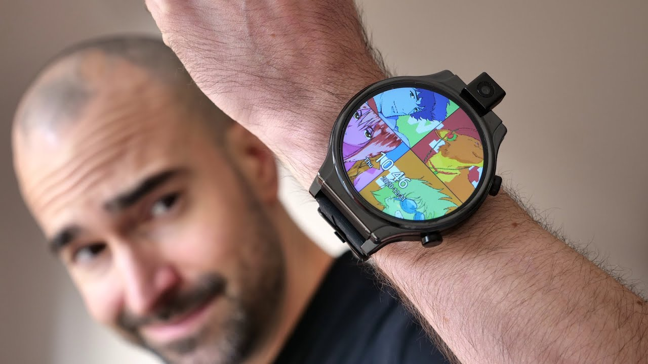 Crazy Android 10 Smartwatch With Rotating Camera Kospet Prime 2 Youtube