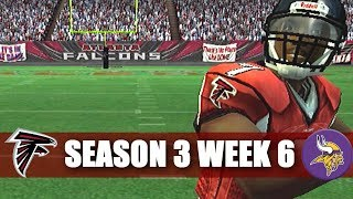THATS NUMBER 9 - MADDEN 07 FALCONS FRANCHISE VS VIKINGS (S3W6)