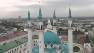 Beautiful Mosque (Kazan, Tatarstan in Russia) Muslim place of worship.