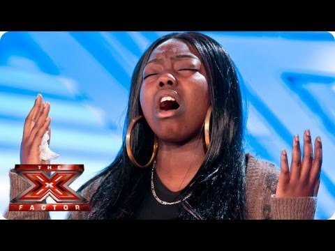 Hannah Barrett sings Read All About It by Emeli Sande - Room Auditions Week 1 -- The X Factor 2013