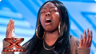 Repeat youtube video Hannah Barrett sings Read All About It by Emeli Sande - Room Auditions Week 1 -- The X Factor 2013