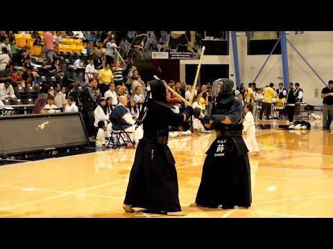 Kendo 2017 Nikkei Games 4 Dan Division: Finals