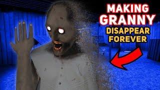 Making Granny DISAPPEAR FOREVER!!! (She's Gone!) | Granny The Mobile Horror Game (Modded Version)