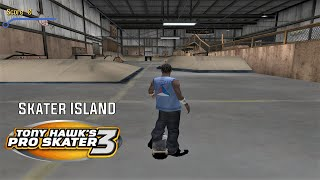 Video Tony Hawk's Pro Skater 3 (PS2) - Skater Island - GOLD MEDAL, 100% STATS AND DECKS download MP3, 3GP, MP4, WEBM, AVI, FLV Juli 2018