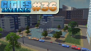 Cities Skylines :: # 36 - Pretty City!