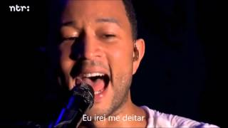 Bridge over troubled water, por John Legend