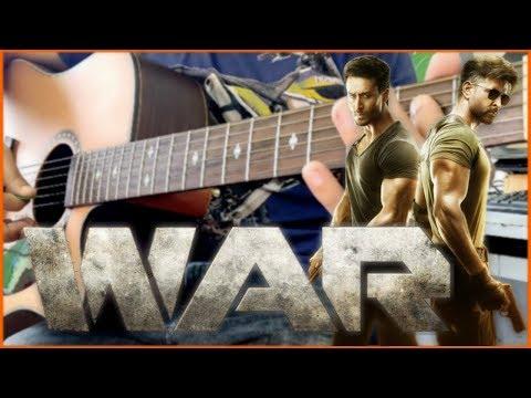 War Kabir's Theme Instrumental Guitar Cover  Kabir's Theme Soundtrack  Hrithik, Tiger, Vaani