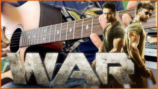 WAR - Kabir's Theme (Instrumental) Guitar Cover | Kabir's Theme Soundtrack | Hrithik, Tiger, Vaani