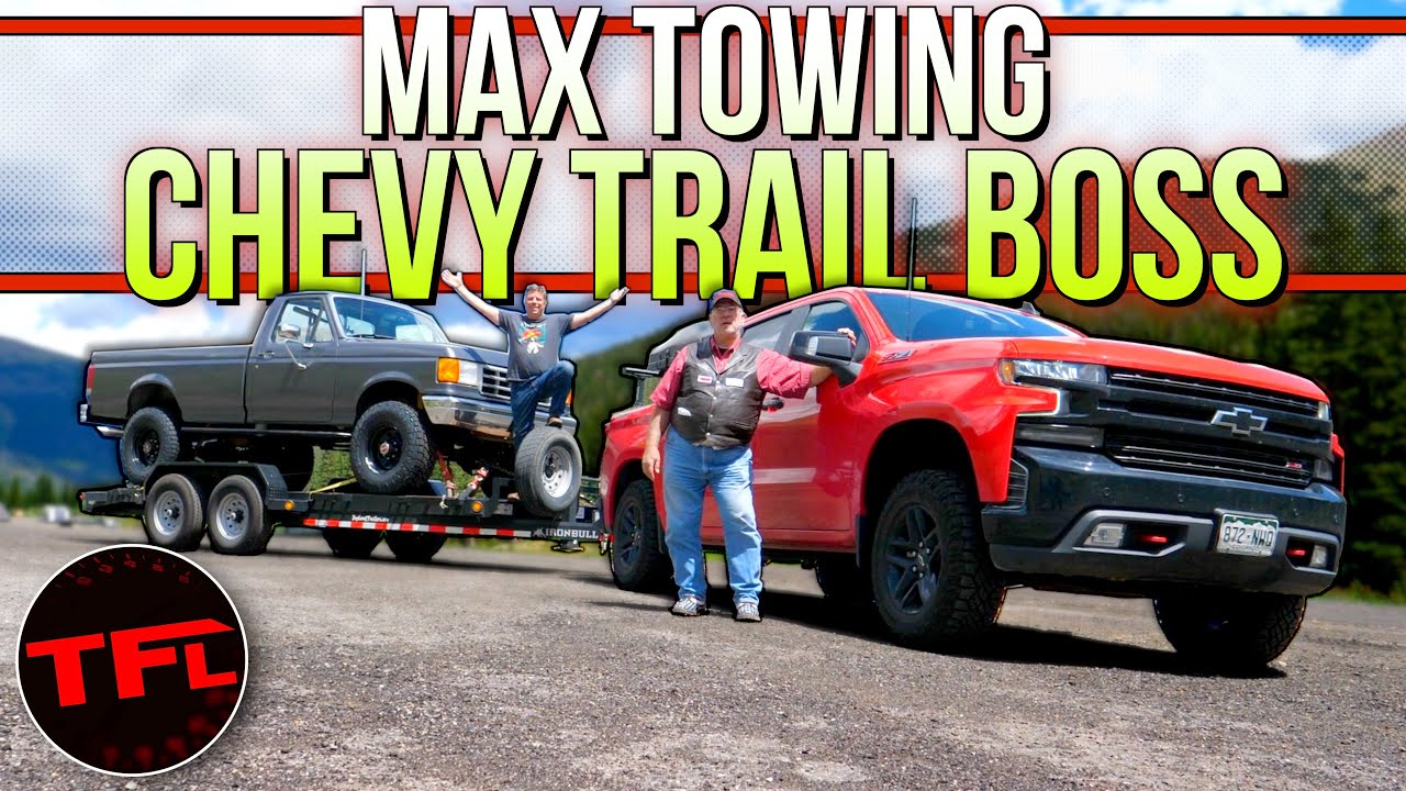 The New Chevy Silverado Trail Boss Takes on The World's Toughest Towing Test with Maximum Load!