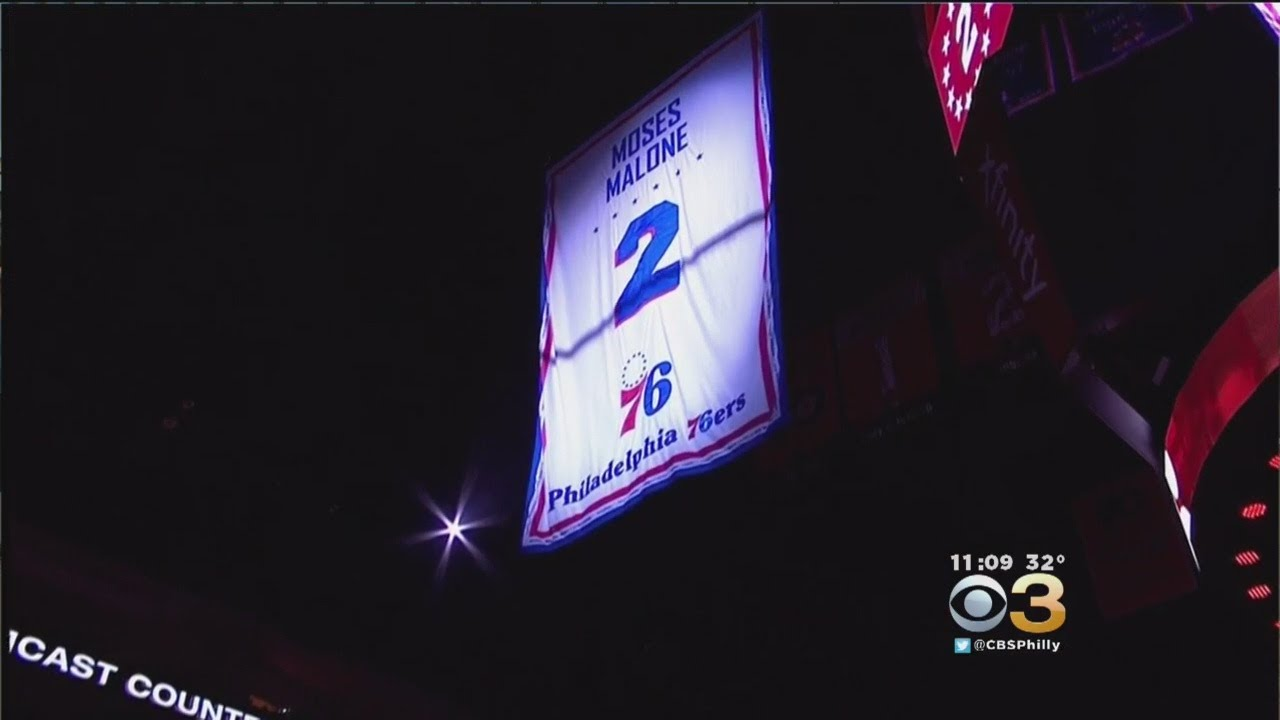 9d31fc3e22f Sixers Retire Moses Malone s Number
