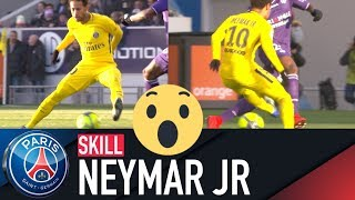 SKILL / GESTE TECHNIQUE : NEYMAR JR - TOULOUSE vs PARIS SAINT-GERMAIN