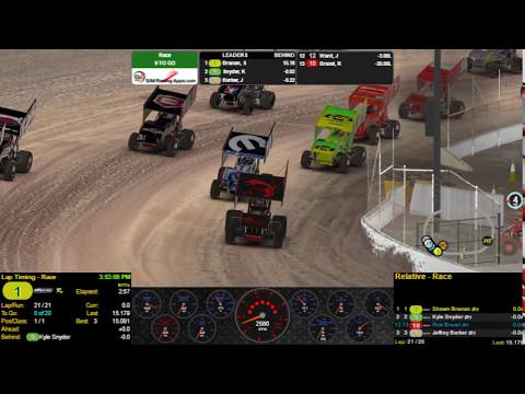 305 Sprint Car win  - Eldora Speedway