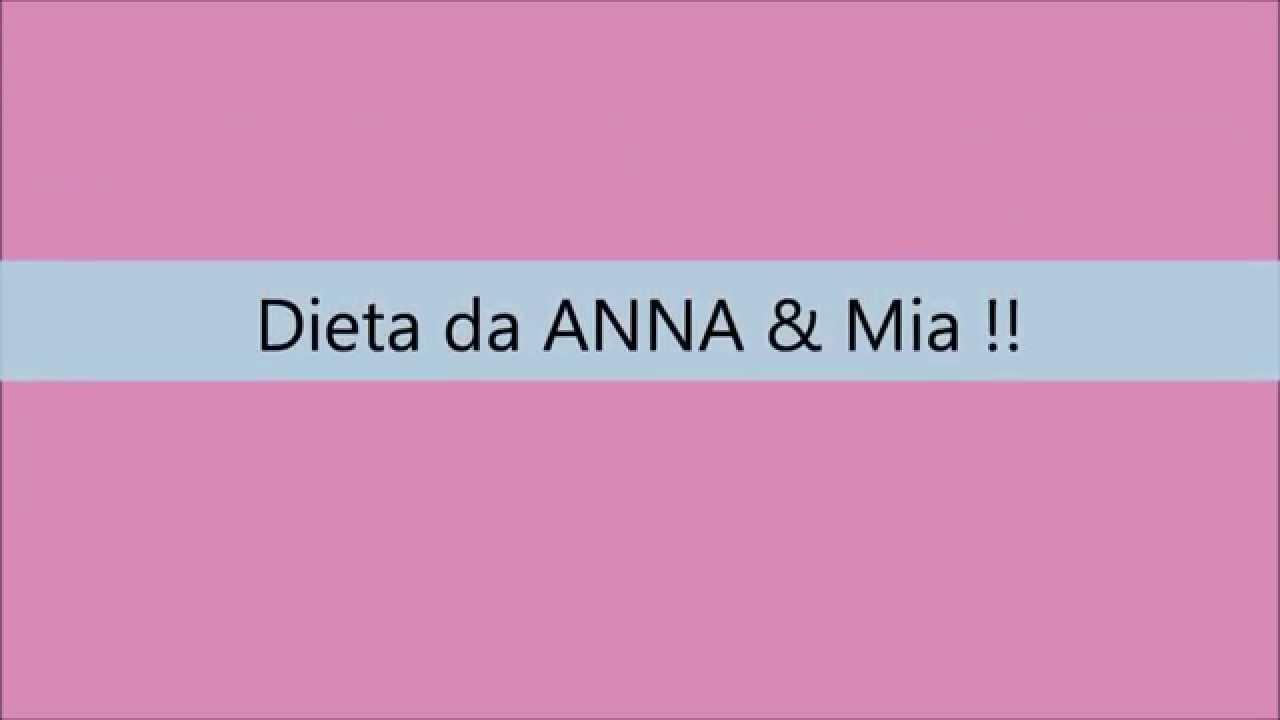 Dieta de um anorexico