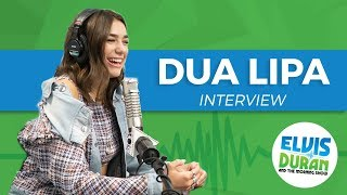 Dua Lipa on Touring with Bruno Mars, and Living Alone When She Was 15 | Elvis Duran Show