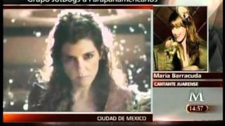 ENTREVISTA MARIA BARRACUDA HEY CIUDAD JUAREZ JOTDOGS (2011)