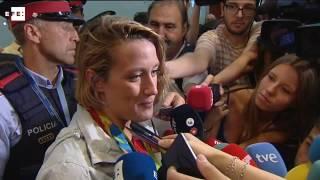 El equipo olímpico regresa a España