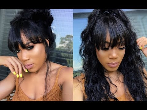 AFFORDABLE FRINGE BANGS FULL LACE WIG | WIGENCOUNTERS