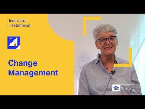 IATA Training   Change Management   Instructor Testimonial