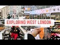 FASHION STUDENT IN LONDON | Notting Hill, Portobello Road, Shepherd's Bush | VLOG 001 | C NICOLE