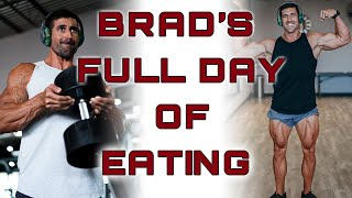 Brad's Full Day of Eating