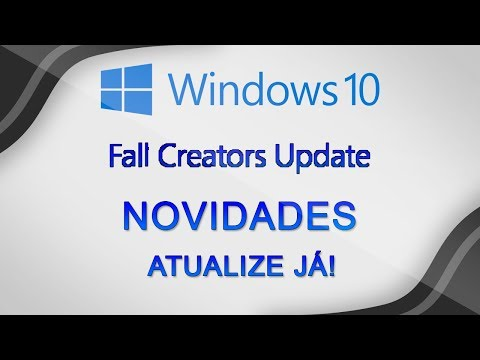Confira a nova VERSÃO do Windows 10 - Windows 10 Fall Creators Update