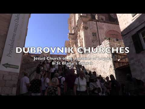 CRUISE ADRIATIC: Dubrovnik Churches. Jean visits two outstanding buildings