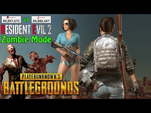 Pub G Mobile Zombie Mode Gameplay Pewdiepie Vs T Series Sub Count