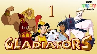 גלדיאטורים סדרת אנימציה לילדים