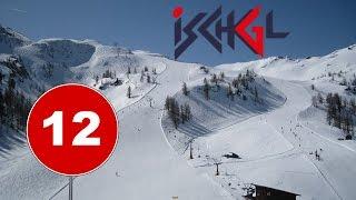 Ischgl Ski Slope 12 (Red)