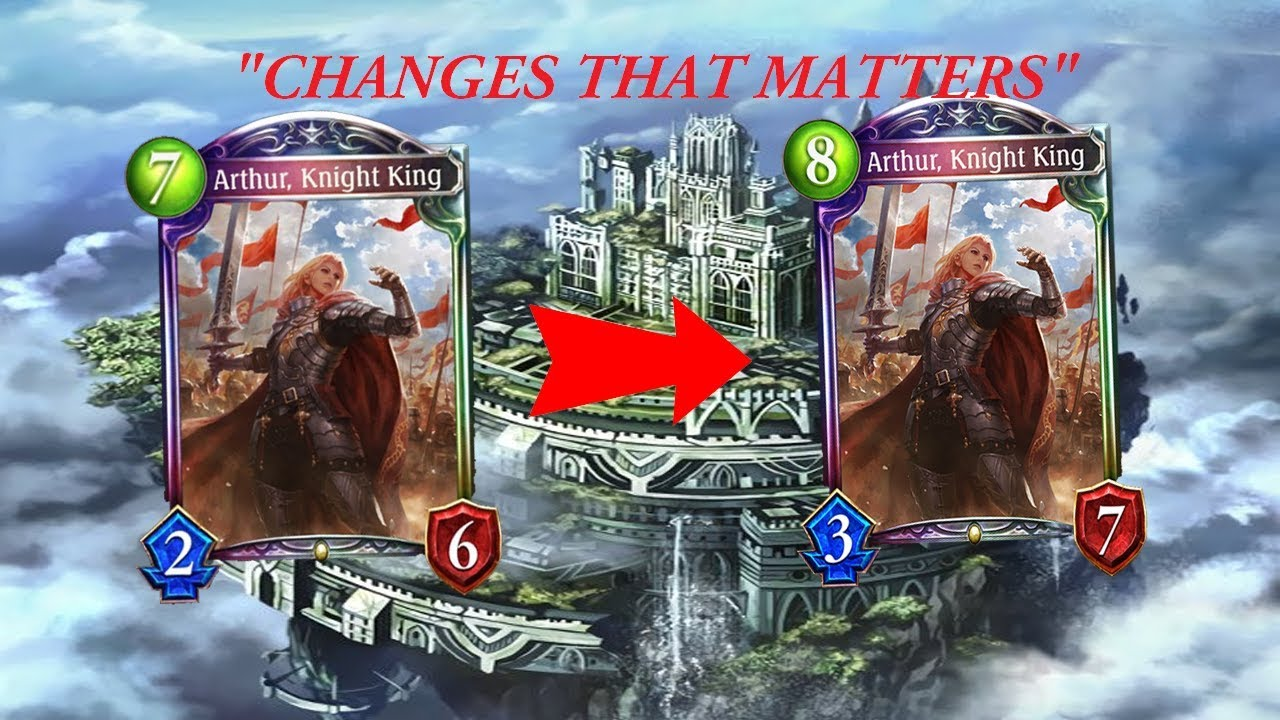 Shadowverse Arthur Buff Camelot In The Sky Oott Unlimited