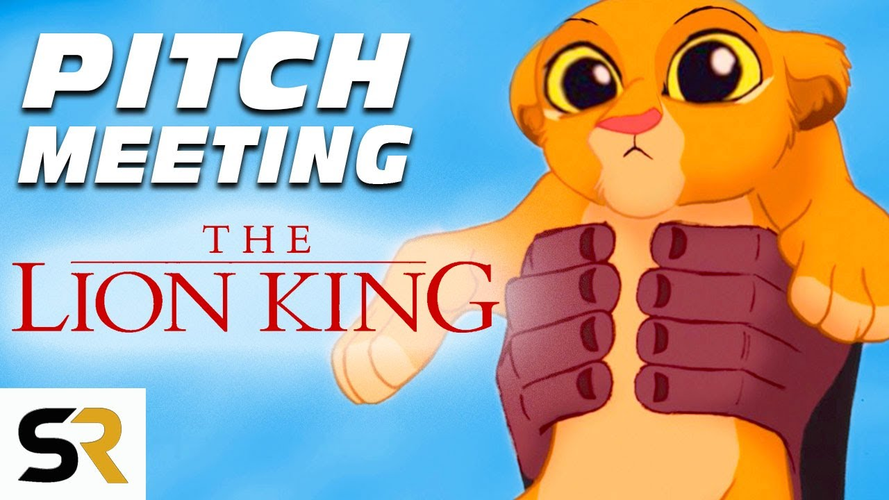 the lion king pitch meeting youtube