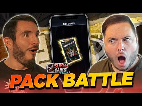 JB Vs JOHNNY GARGANO - An EPIC WWE SuperCard PACK BATTLE!