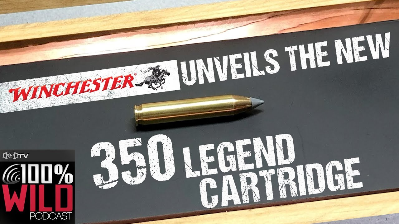 Winchester Unveils The New 350 Legend Deer Hunting Cartridge - 100% Wild  Podcast