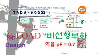 Trd#A0023] 비선형 부하, UPS 비선형부하시험…