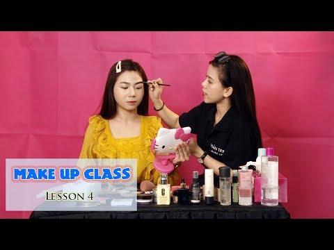 [ĐẸP] Make up class   Kẻ chân mày siêu chuẩn là chuyện nhỏ - Lesson 4