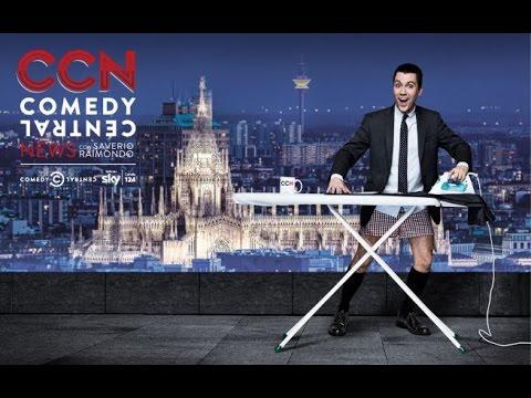 Saverio Raimondo conduttore di CCN su Comedy Central News
