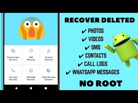 How To Recover Deleted Files From Android Phone | Both Rooted & Non-Rooted Phones