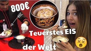 Ich probiere das TEUERSTE EIS der WELT für 800 € !! | BibisBeautyPalace