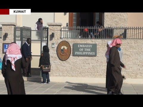 Dagdag tauhan, ipinadala sa Kuwait upang sagipin ang mga distressed OFWs